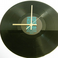 "China Crisis - ""The Highest High"" Record Wall Clock"