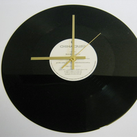 "China Crisis - ""The Best Kept Secret"" Record Wall Clock"