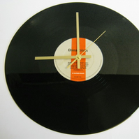 "China Crisis - ""Scream Down At Me"" Record Wall Clock"