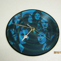"Foreigner - ""Blue Morning Blue Day"" Record Wall Clock"