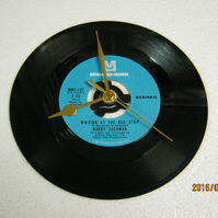 "Bobby Sherman - ""Waiting At The Bus Stop"" Record Wall Clock"