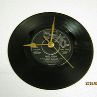 "Smokey Robinson - ""Quiet Storm"" Record Wall Clock"