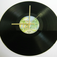"Electric Light Orchestra (ELO) - ""The Night The Light Went On"" Record Wall Clock"