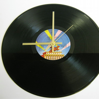 "Electric Light Orchestra (ELO) - ""Secret Messages"" Record Wall Clock"
