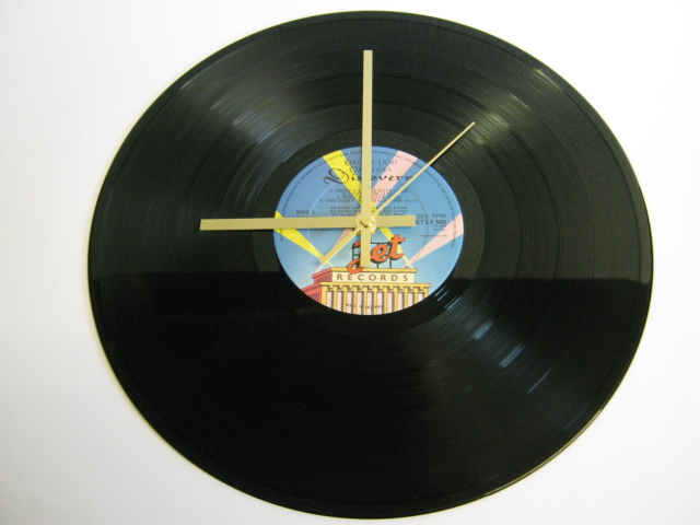 "Electric Light Orchestra (ELO) - ""Discovery"" Record Wall Clock"