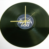 "Diamond Head - ""Borrowed Time"" Record Wall Clock"