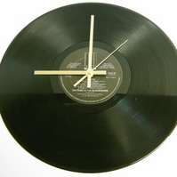 "Ian Dury & The Blockheads - ""Laughter"" Record Wall Clock"