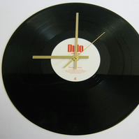 "Dido - ""White Flag"" Record Wall Clock"