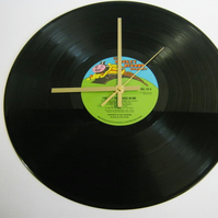 "The Kiki Dee Band - ""I've Got The Music In Me"" Record Wall Clock"