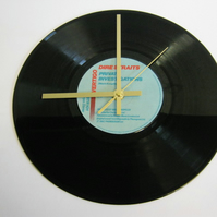"Dire Straits - ""Private Investigations"" Record Wall Clock"