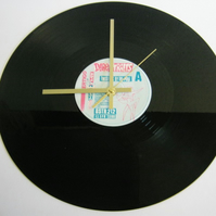 "Dire Straits - ""Twisting By The Pool"" Record Wall Clock"