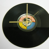 "Basement 5 - ""Silicone Chip"" Record Wall Clock"