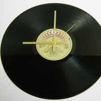 "Blackfoot - ""Tomcattin'"" Record Wall Clock"