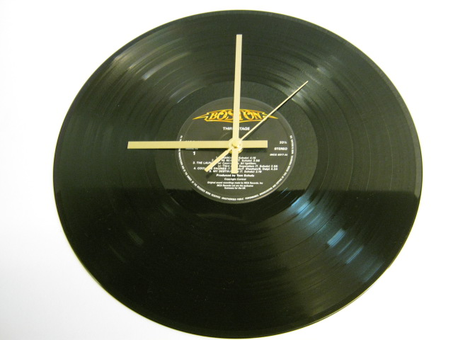 "Boston - ""Third Stage"" Record Wall Clock"