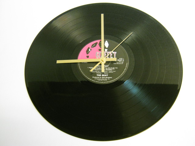 "The Beat - ""Wha'ppen?"" Record Wall Clock"