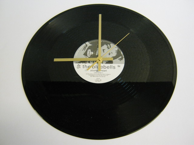 "The Bluebells - ""Young At Heart"" Record Wall Clock"