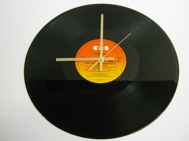"Philip Bailey - ""Easy Lover"" Record Wall Clock"
