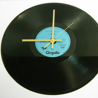 "Blondie - ""Rapture"" Record Wall Clock"