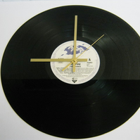 "Bonfire - ""Fireworks"" Record Wall Clock"