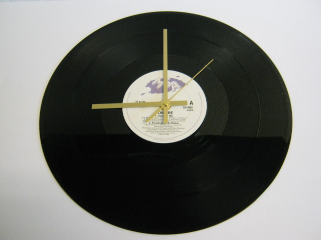 "Bonfire - ""Hard On Me"" Record Wall Clock"