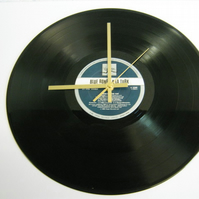 "Blue Rondo A La Turk - ""Chewing The Fat"" Record Wall Clock"