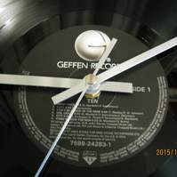 "Y&T - ""Ten"" Vinyl Record Wall Clock"