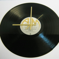 "The Carpenters - ""Singles"" Record Wall Clock"