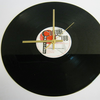 "Culture Club - ""Church Of The Poisoned Mind"" Record Wall Clock"