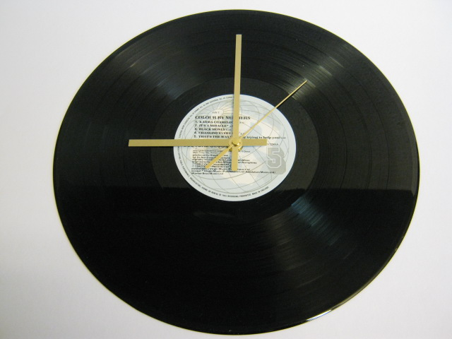 "Culture Club - ""Colour By Numbers"" Record Wall Clock"