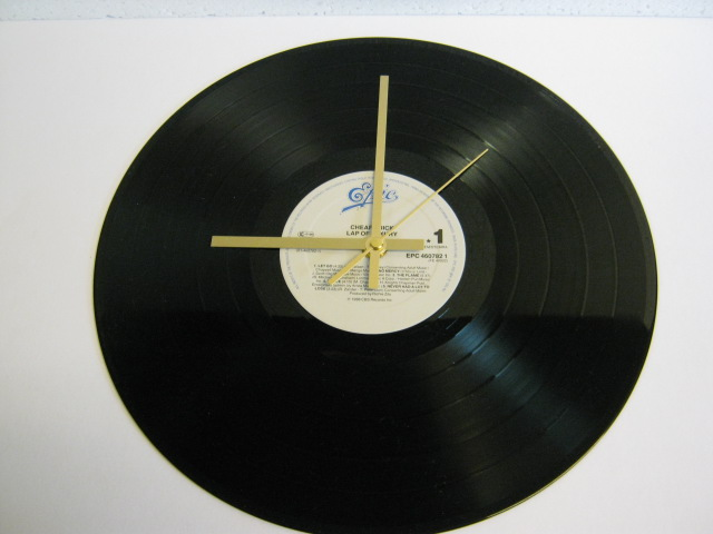 "Cheap Trick - ""Lap Of Luxury"" Record Wall Clock"