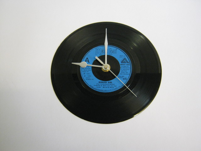 "Meat Loaf - ""Modern Girl""  Vinyl Record Wall Clock"