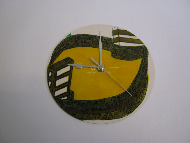 "Elbow - ""One Day Like This""  Vinyl Record Sleeve Wall Clock"