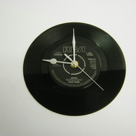 "David Bowie ""Heroes"" 7"" Vinyl Record Wall Clock"