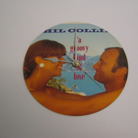 "Phil Collins ""A Groovy Kind Of Love"" 7"" Vinyl Record Sleeve Wall Clock"