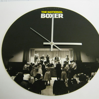 "The National ""Boxer"" 12"" Vinyl Record Sleeve Wall Clock"