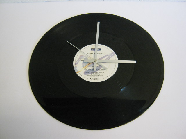 "Sinead O'Connor - ""Mandinka"" 12"" Vinyl Record Wall Clock"