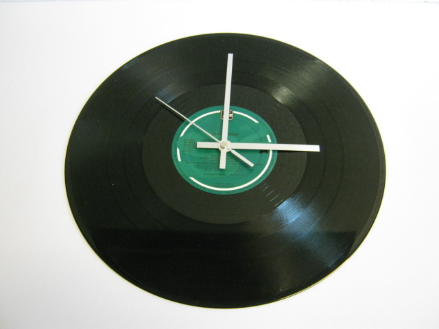 "Sunscreem - ""Exodus"" 12"" Vinyl Record Wall Clock"