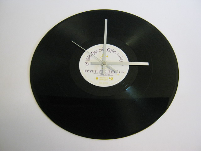 "Prince - ""The Most Beautiful Girl In The World"" 12"" Vinyl Record Wall Clock"