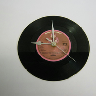 "Trammps - ""Zing Went The Strings Of My Heart"" 7"" Vinyl Record Wall Clock"