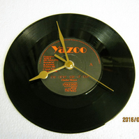 "Yazoo - ""The Other Side Of Love"" 7"" Vinyl Record Wall Clock"