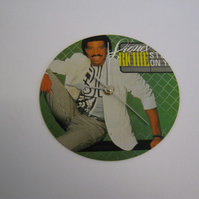 "Lionel Richie - ""Stuck On You"" 7"" Vinyl Record Sleeve Wall Clock"