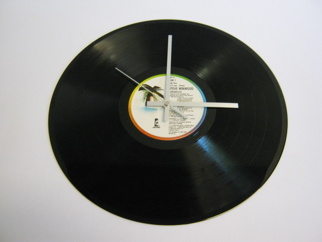 "Steve Winwood ""Chronicles"" 12"" Vinyl Record Wall Clock"