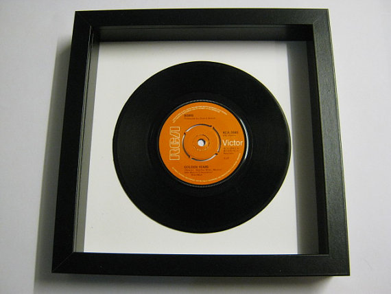 "David Bowie - ""Golden Years"" Framed Record"