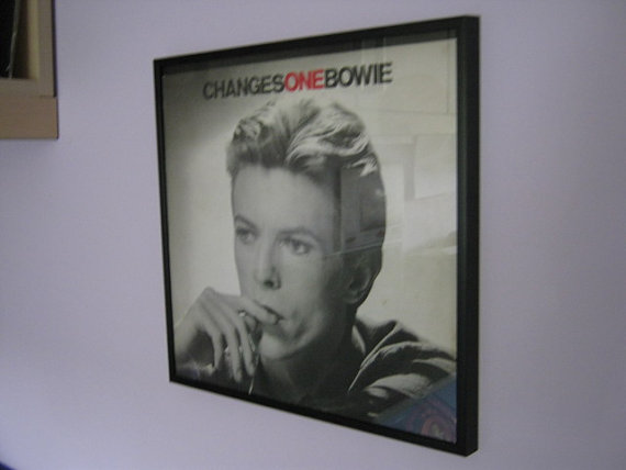 "David Bowie - ""Changes One"" Framed Record Sleeve"