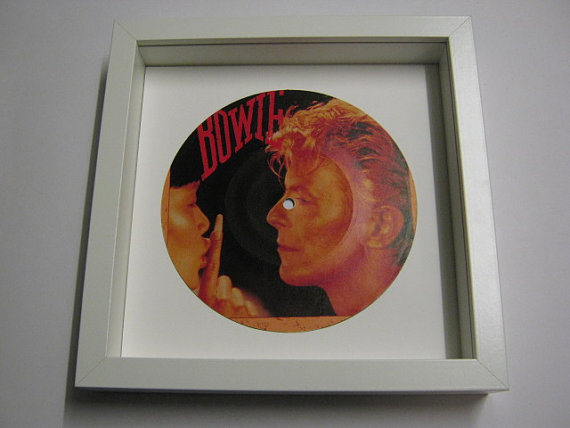 "David Bowie - ""China Girl"" Framed Record Sleeve"