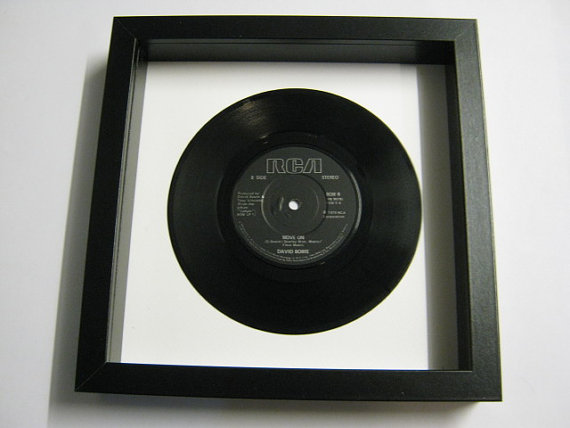 "David Bowie - ""Move On"" Framed Record"