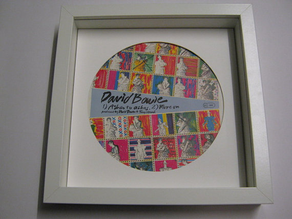"David Bowie - ""Ashes To Ashes"" Framed Record Sleeve"