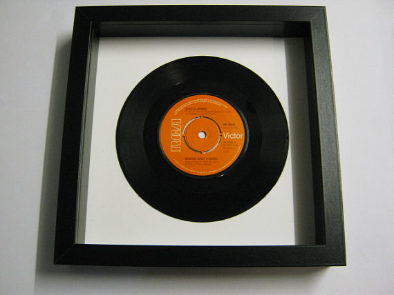 "David Bowie - ""Sound And Vision"" Framed Record"