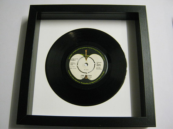 "The Beatles - ""Come Together"" Framed Record"