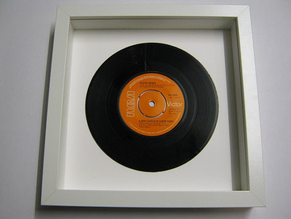"David Bowie - ""A New Career In A New Town"" Framed Record"